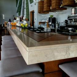 A Unique Combination Of Wood Marble Ligouriou Dark By Pavlides Marble